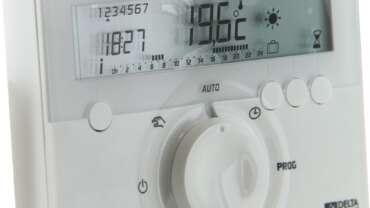 programmateur chauffage electrique