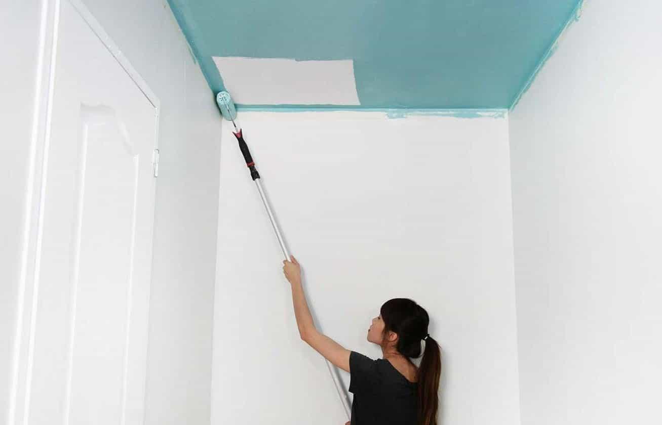 comment peindre son plafond