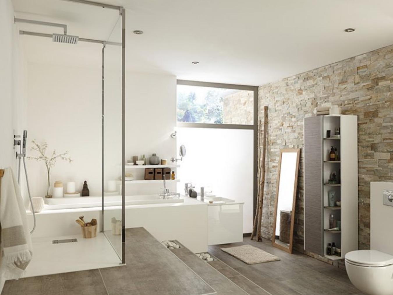 definition salle de bain italienne