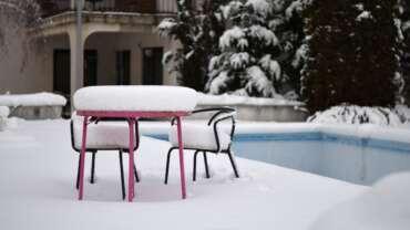 entretenir piscine hiver