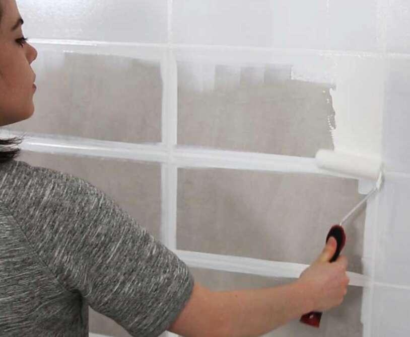 peinture carrelage salle de bain