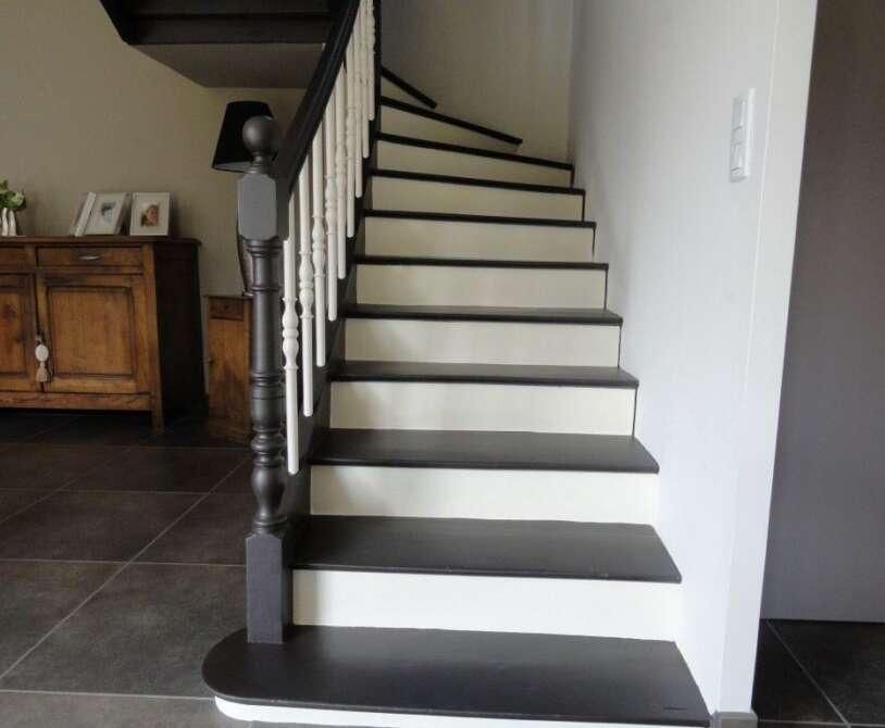 peinture escalier