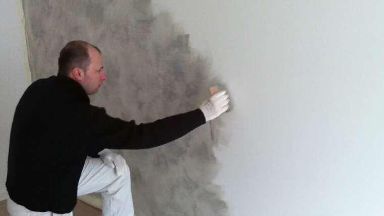 peinture sablee