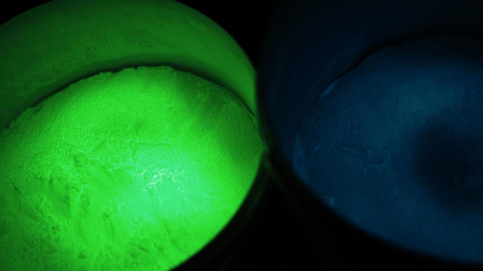 que faire avec la peinture phosphorescente