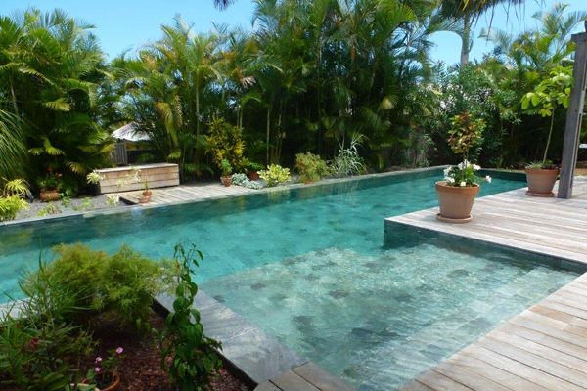 motif carrelage piscine